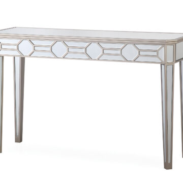 Versaille Glass Console Table
