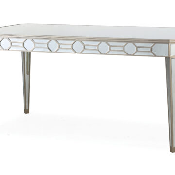 Versaille Glass Mirrored Dining Table