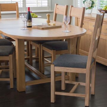 Montrose Dining Extension Oval Table