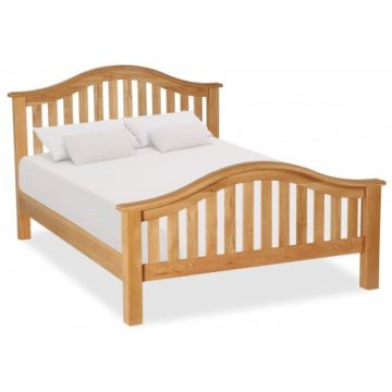 Darwin Classic Curved Slatted Bed
