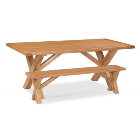 Darwin Cross Butterfly Table with bench