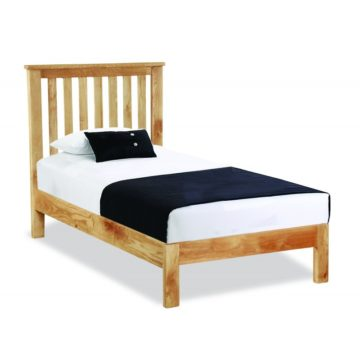 Slatted Low-End Bed