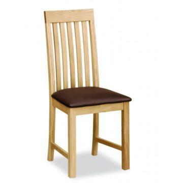 Aspen Vertical Slatted Chair