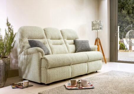 Keswick Small Fixed Three Seater Sofa