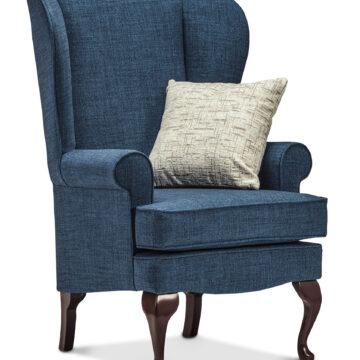 Queen Anne High Seat Chair
