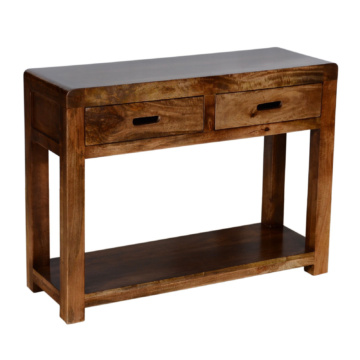 Delhi Dark Oak Console Table