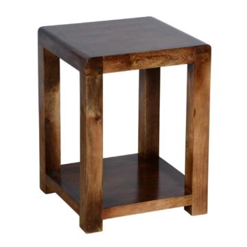Delhi Dark Oak Lamp Table