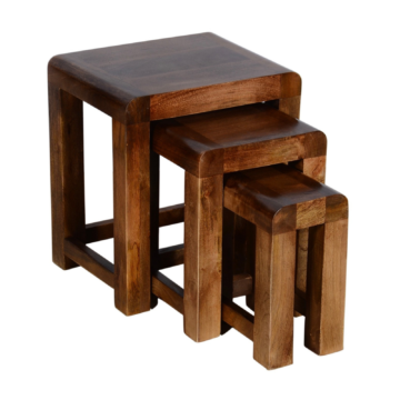 Delhi Dark Oak Nest of Tables
