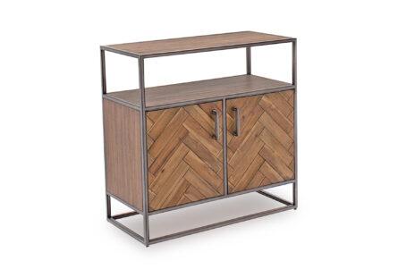 Light Brown Ethan Sideboard - Small - Angled