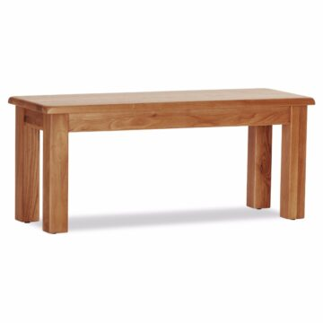 Westbury Small Oak bench