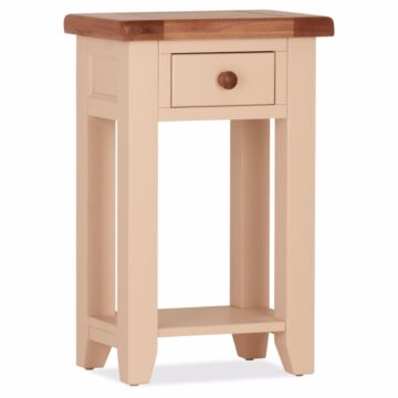 Ivory Console Table 1 drawer