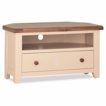 Amelie Ivory Corner TV Unit