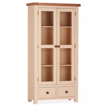 Amelie Double Display Cabinet