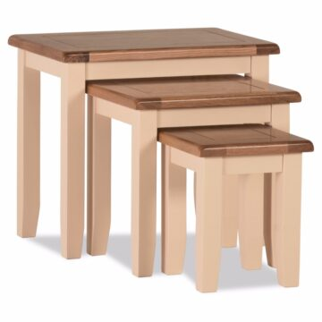 Amelie Ivory Nest of Tables