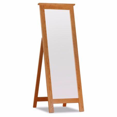 Westbury Long Oak Mirror