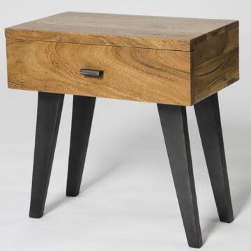 Mackintosh Wooden Drawered Lamp Table