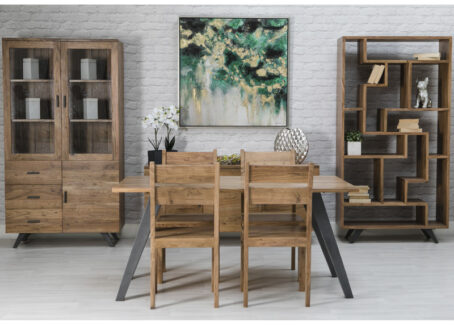 Mackintosh Industrial Luxe Dining Table