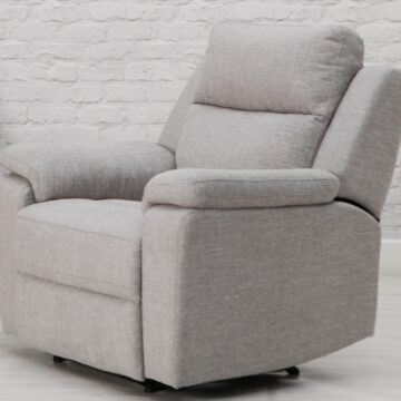 Carlton Grey Recliner Armchair